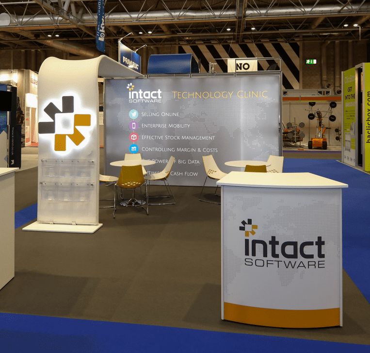 Intact Software Modular Evolve Exhibition Counters