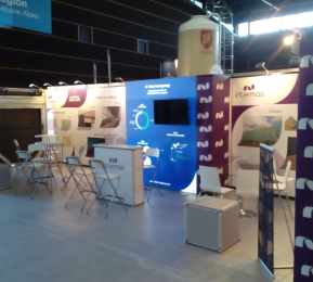 Intermas Exhibition Stand by Nomadic Display